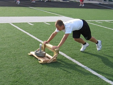Wildcat athletic conditioning sled